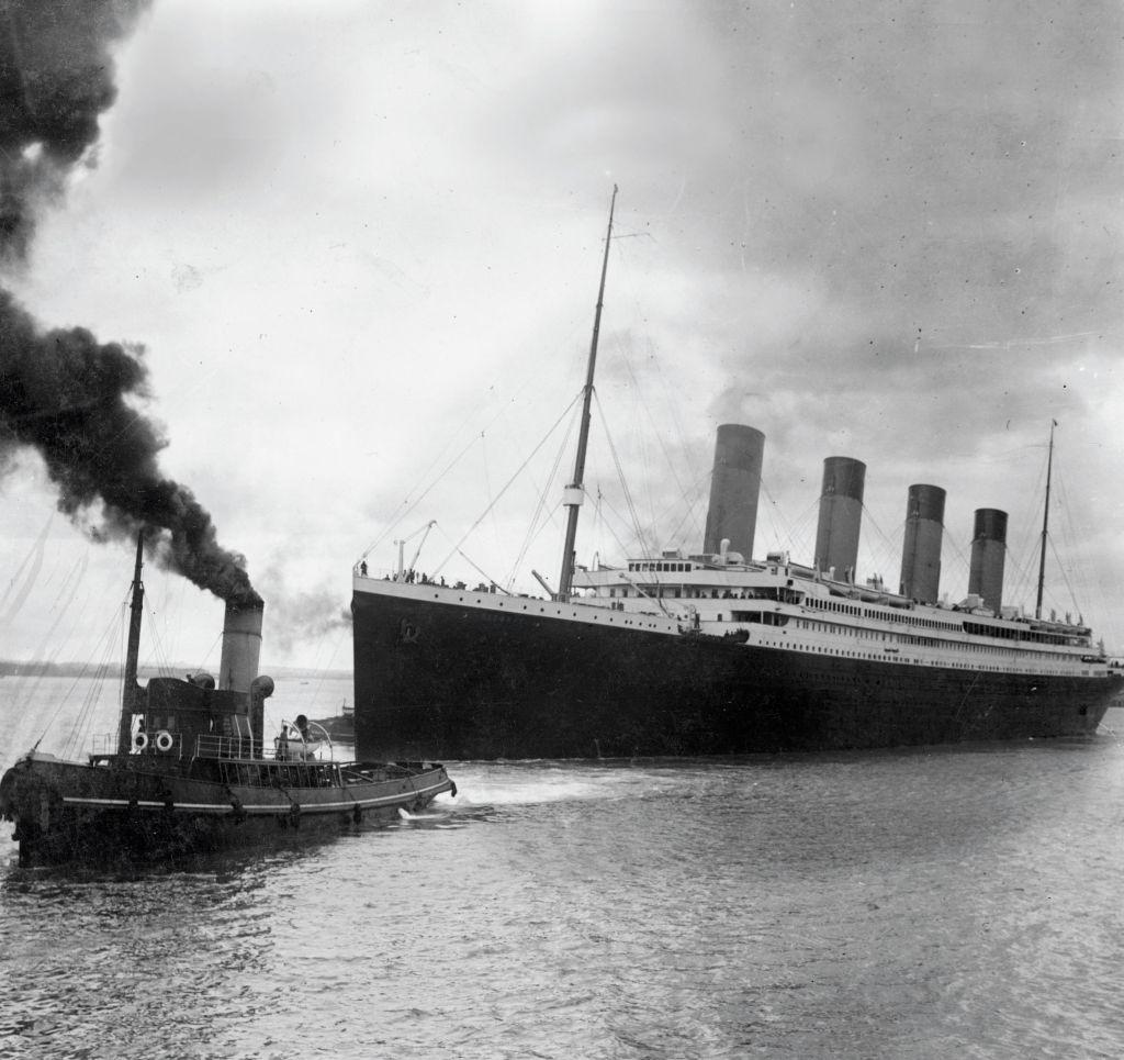 """""""Titanic"""" išplaukia"""