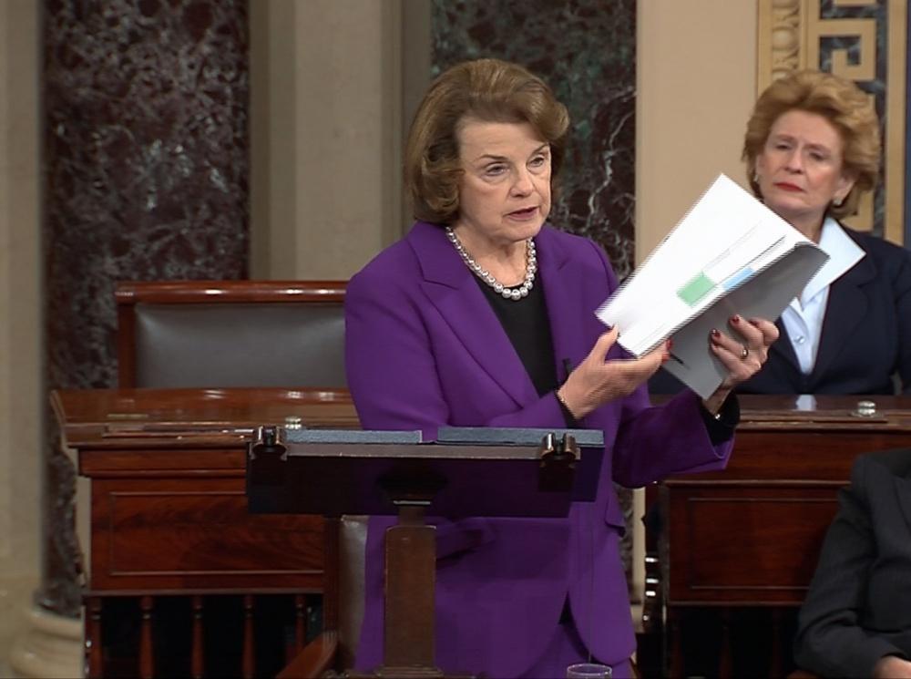 JAV Senato Žvalgybos komiteto pirmininkė Dianne Feinstein daug nuveikė rengiant CŽV tardymo metodų ataskaitą