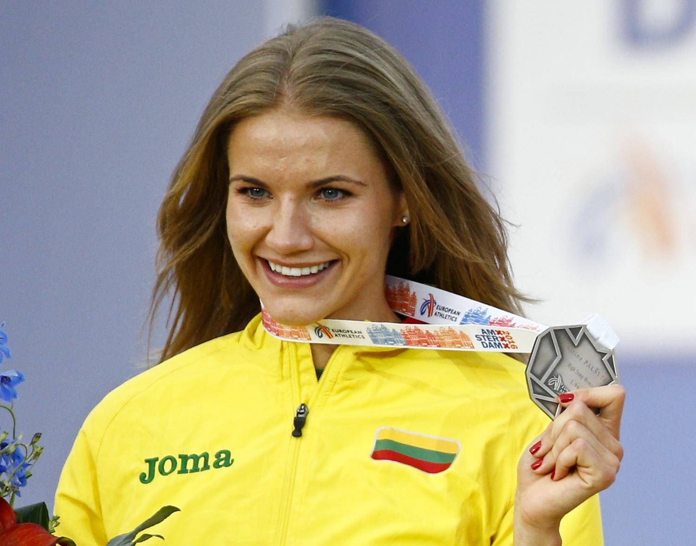 Airinė Palšytė iškovojo Europos čempionato sidabrą