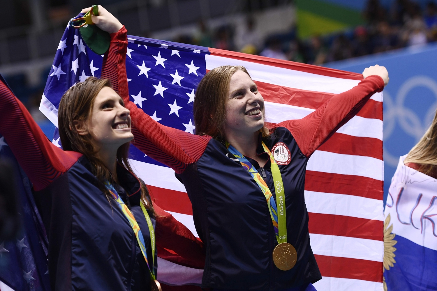 Lilly King ir Catherine Meili