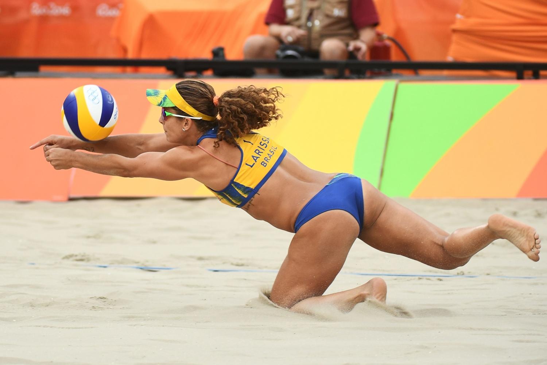 Moterų paplūdimio tinklinio varžybos Rio olimpiadoje