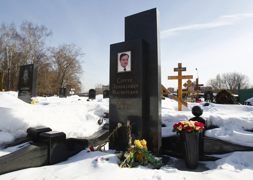 Sergejaus Magnitskio kapas Maskvoje