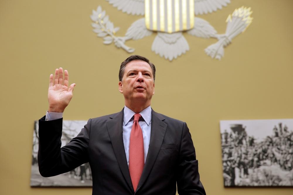 FTB direktorius Jamesas Comey
