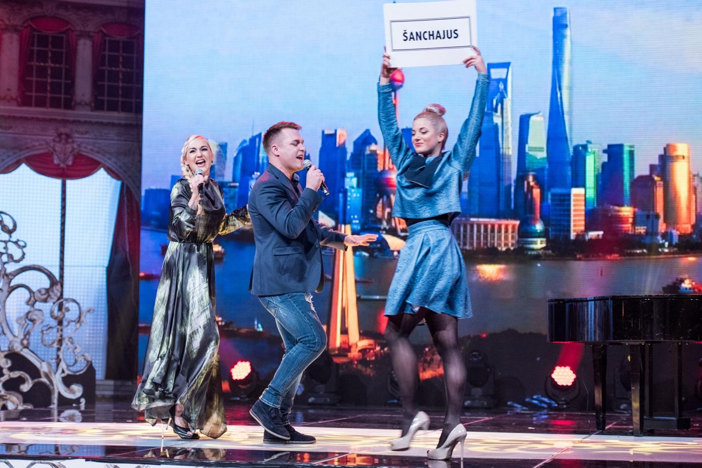 Indrė Stonkuvienė ir Donatas Čižauskas