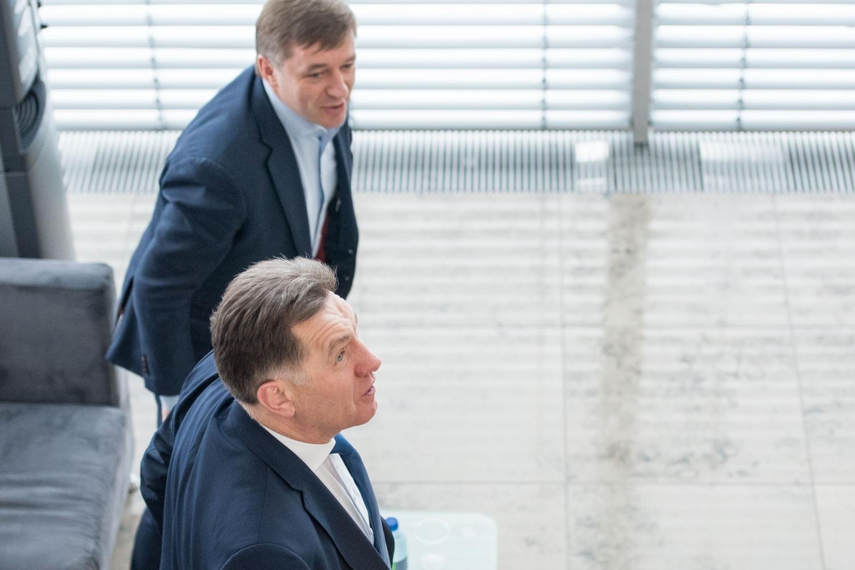 Algirdas Butkevičius ir Ramūnas Karbauskis