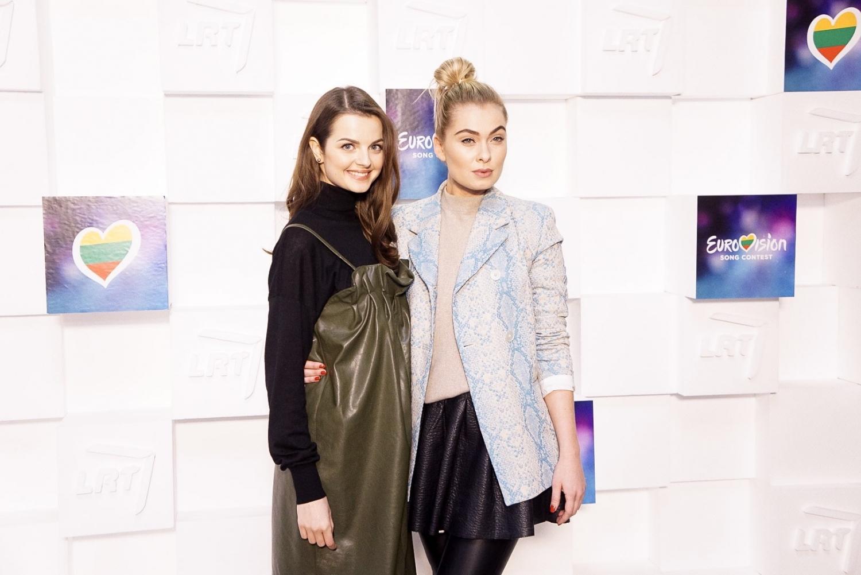 Ieva Stasiulevičiūtė ir Gabrielė Martirosianaitė