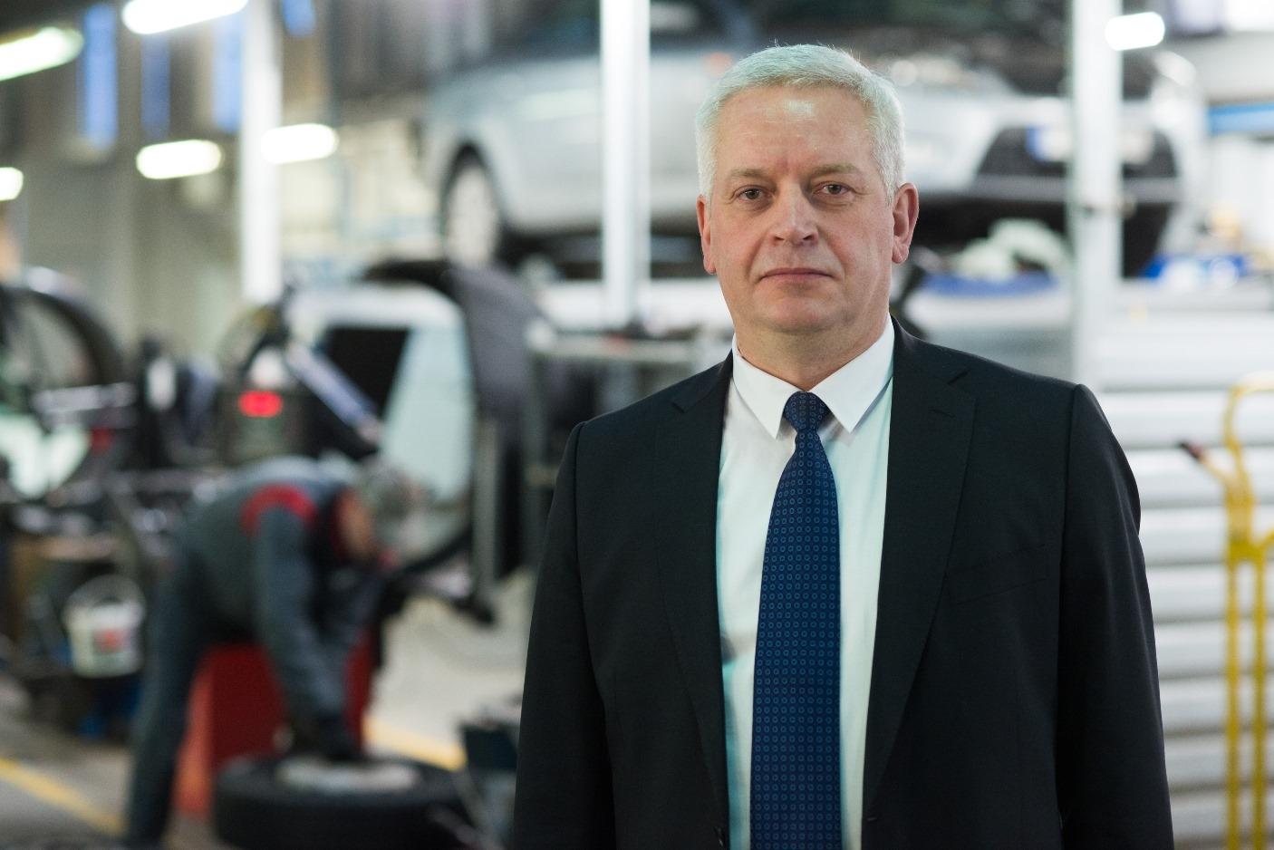 Inchcape Motors Serviso ir atsarginių detalių plėtros vadovas Artūras Kviliūnas