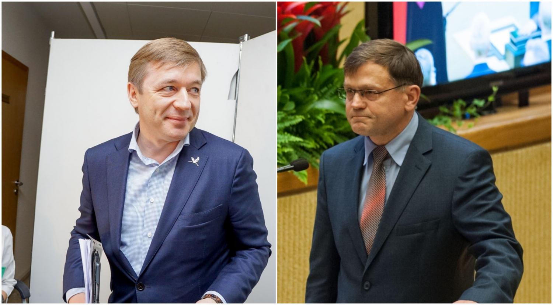 R. Karbauskis ir B. Matelis