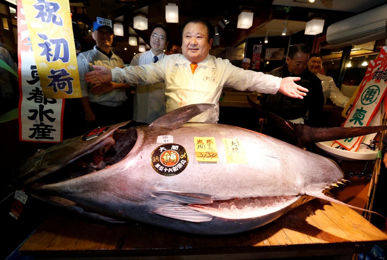 Japonijos žuvų turgus
