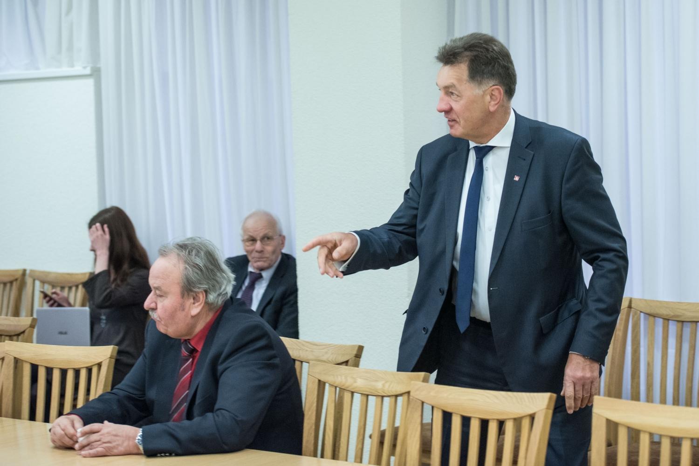 Bronius Bradauskas ir Algirdas Butkevičius