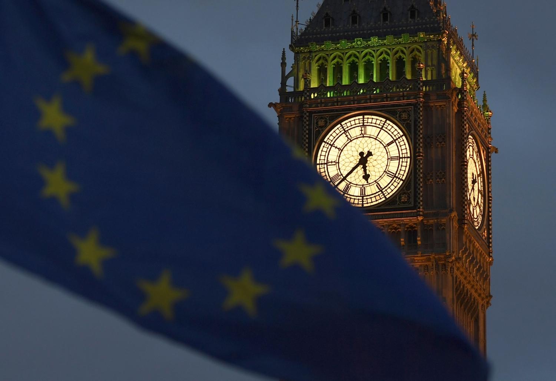 ES vėliava plevėsuoja Londone
