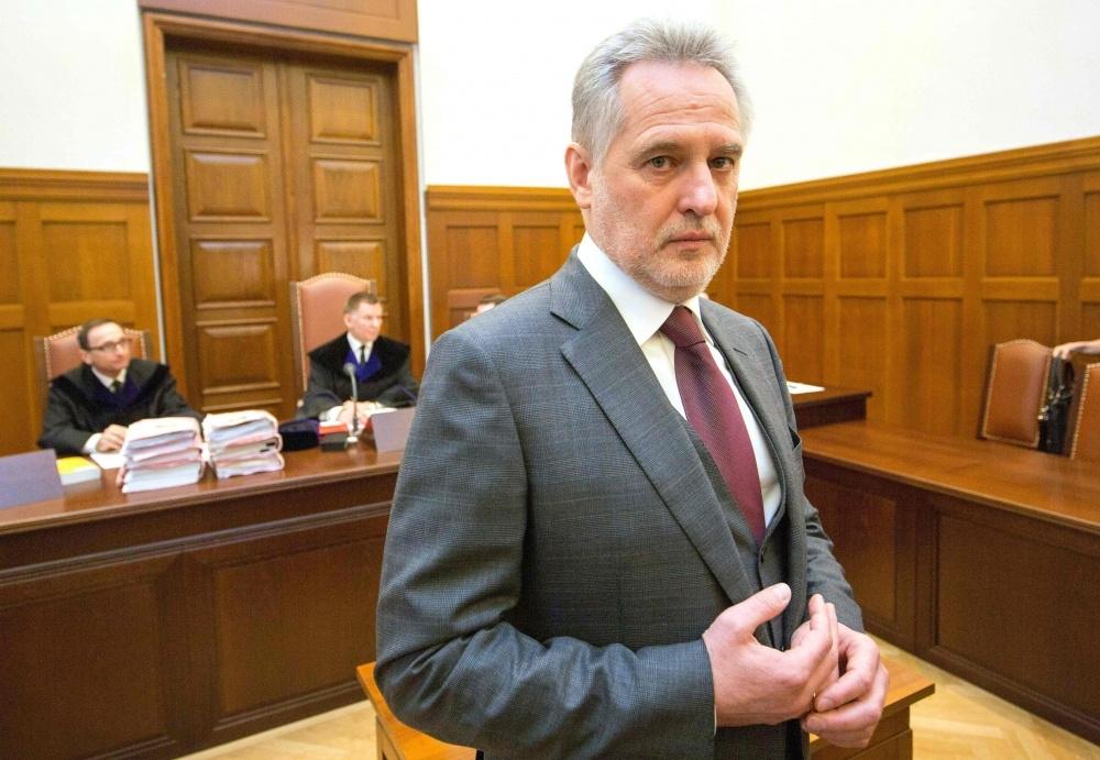 Su Rusija siejamam Ukrainos oligarchui Dmitrijui Firtašui patinka veikti šešėliuose. Tačiau Austrija jam tapo spąstais.