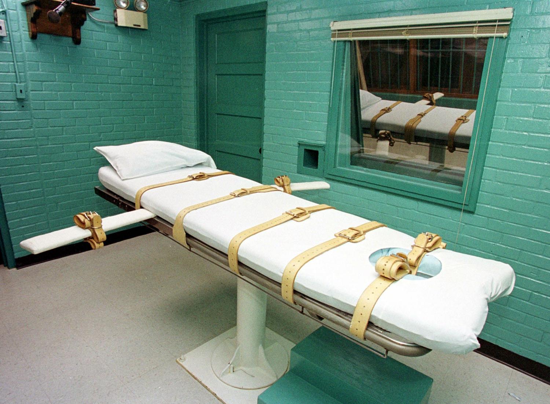 Mirties bausmės vykdymo kambarys Tenesyje, JAV