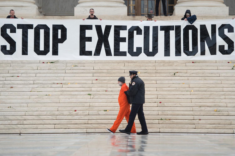 Protestas prieš mirties bausmę JAV