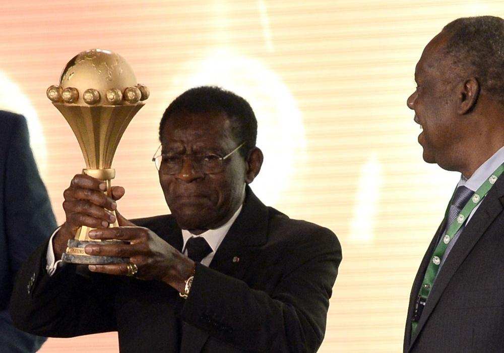 Pusiaujo Gvinėjos diktatorius Teodoro Obiangas