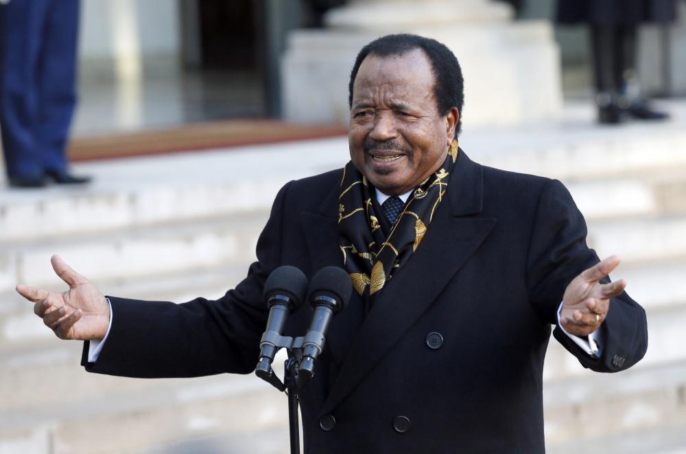 Kamerūno prezidentas Paulis Biya