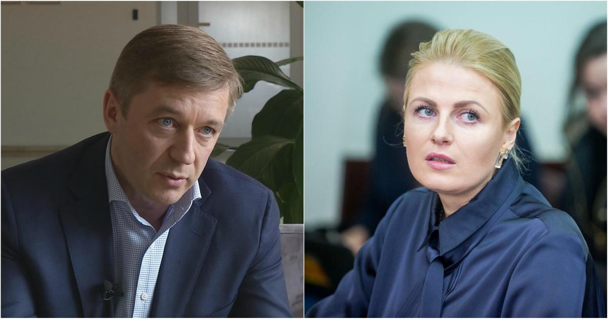 Ramūnas Karbauskis ir Greta Kildišienė
