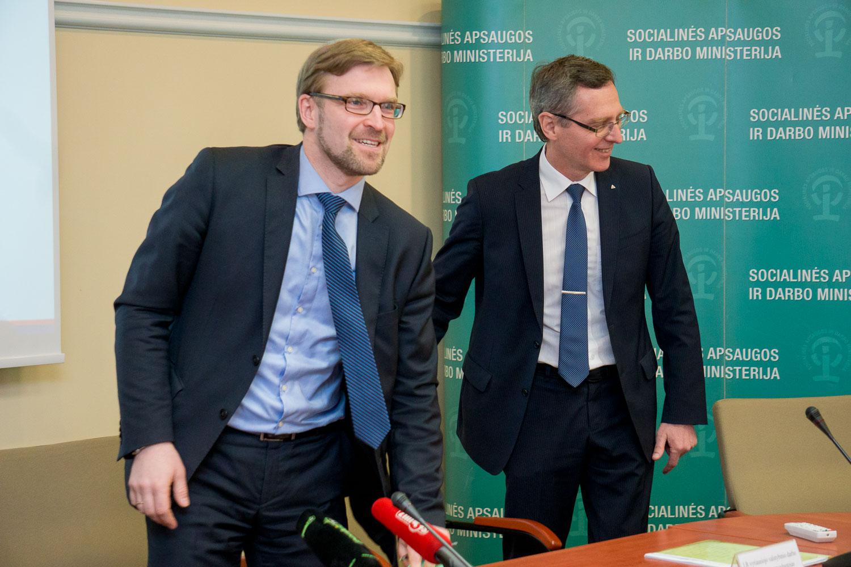 Linas Kukuraitis ir Arūnas Lupeika