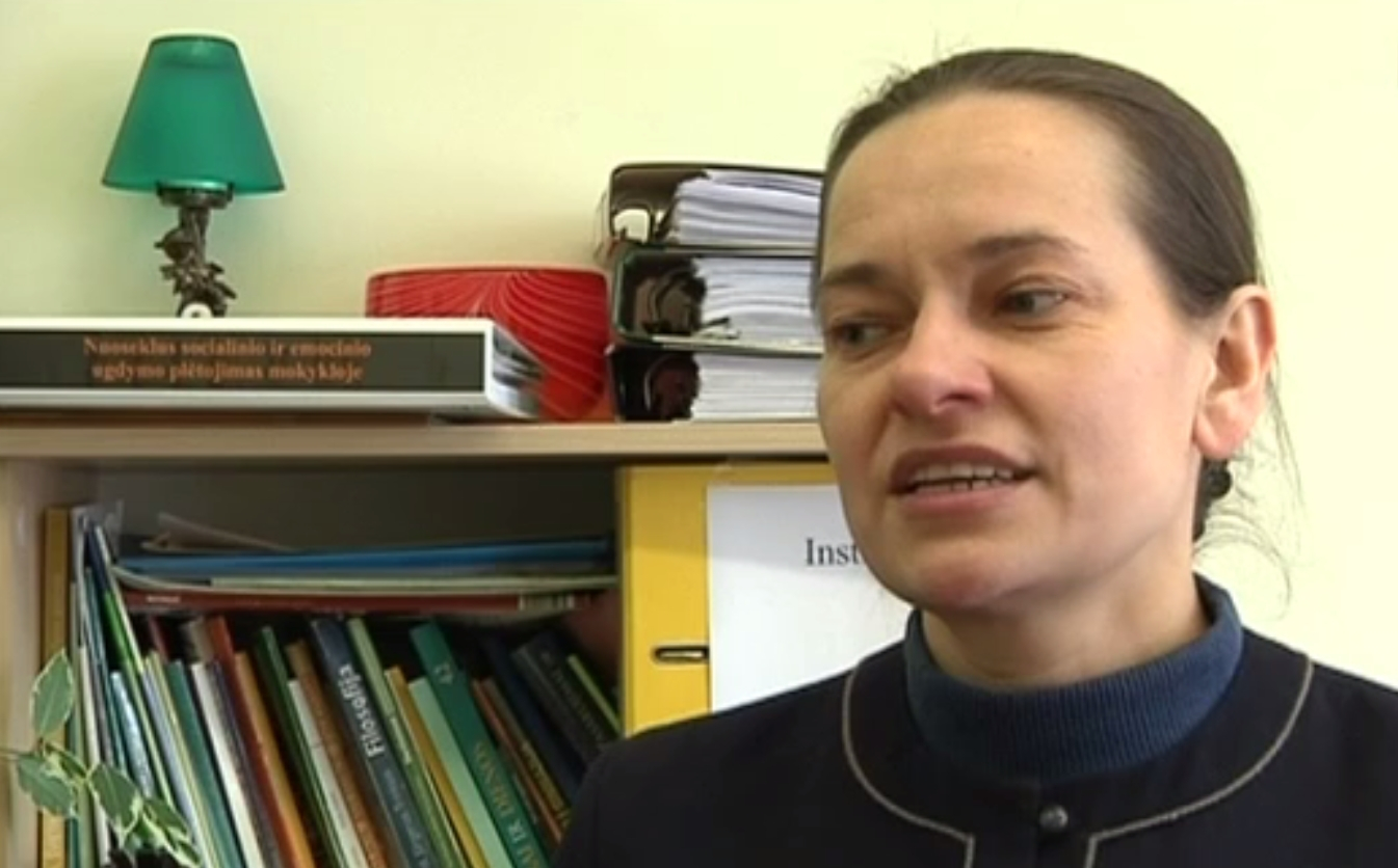 Telšių Žemaitės gimnazijos mokytoja Loreta Raudytė