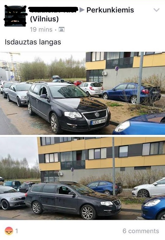 Perkūnkiemyje siaučia VW automobilių vagys
