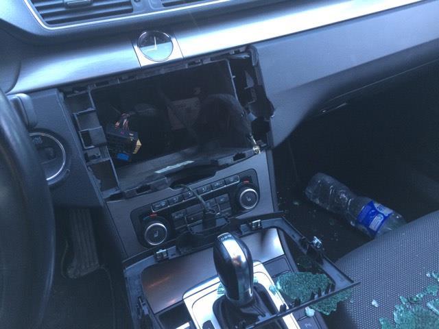 Apvogtas VW Passat automobilis