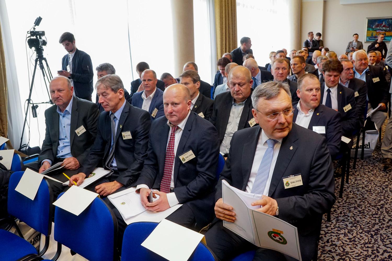 Lietuvos futbolo federacijos vykdomojo komiteto posėdis