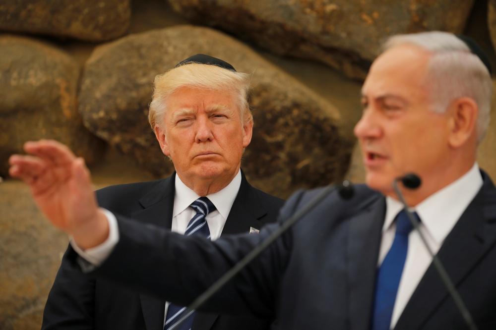 Donaldas Trumpas ir Benjaminas Netanyahu