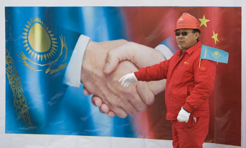 Kinų darbininkas Kazachijoje