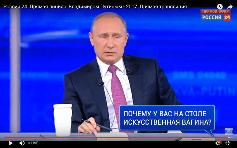 V. Putino klausimų - atsakymų konferencija