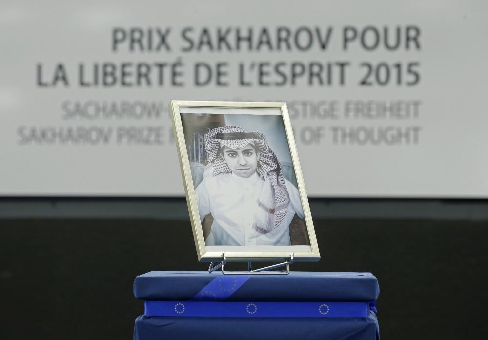 2015 metų Europos Parlamento (EP) Sacharovo premija buvo paskirta įkalintam Saudo Arabijos tinklaraštininkui Raifui Badawi
