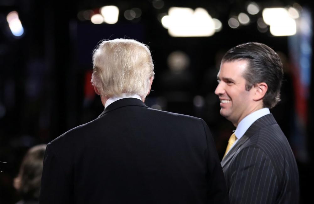 Donaldas Trumpas Jr. kampanijos metu buvo vienas artimiausių tėvo patikėtinių
