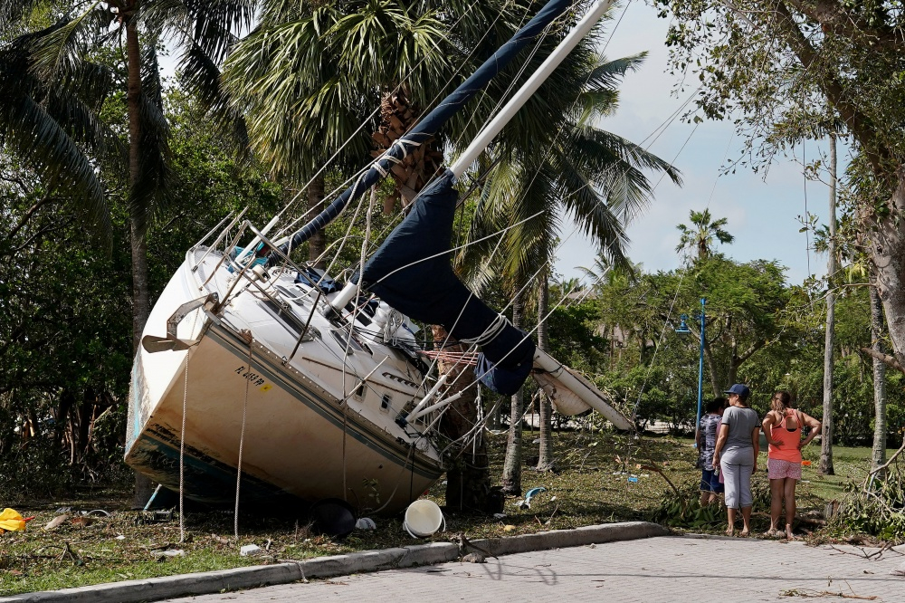 Uragano Irma nuniokota Florida