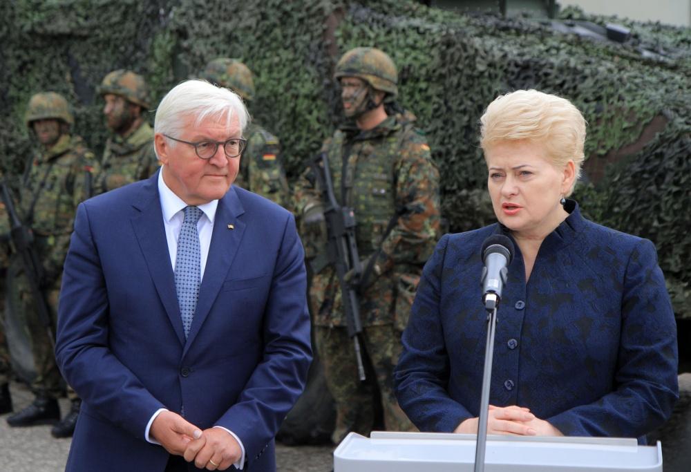 Vokietijos prezidentas Frankas Walteris Steinmeieris ir Lietuvos prezidentė Dalia Grybayskaitė rugpjūčio pabaigoje lankėsi Rukloje