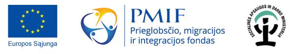 ES, PMIF ir SADM logotipai