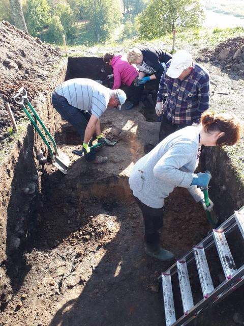 i Bilionių piliakalnio archeologiniai tyrimai (Nuotr. – Šilalės rajono savivaldybės)
