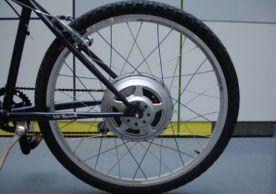 Elektrinis dviraèio variklis ir akumuliatorius viename