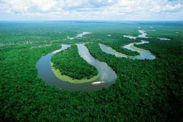 Pietu amerikos upe galiune