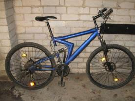 Policija rado dvirat�