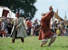"""Viduramžių karių vadovas: bandome """"iššifruoti"""", ką paliko protėviai (Karolio Kavolėlio nuotr. , Fotodiena.lt)"""